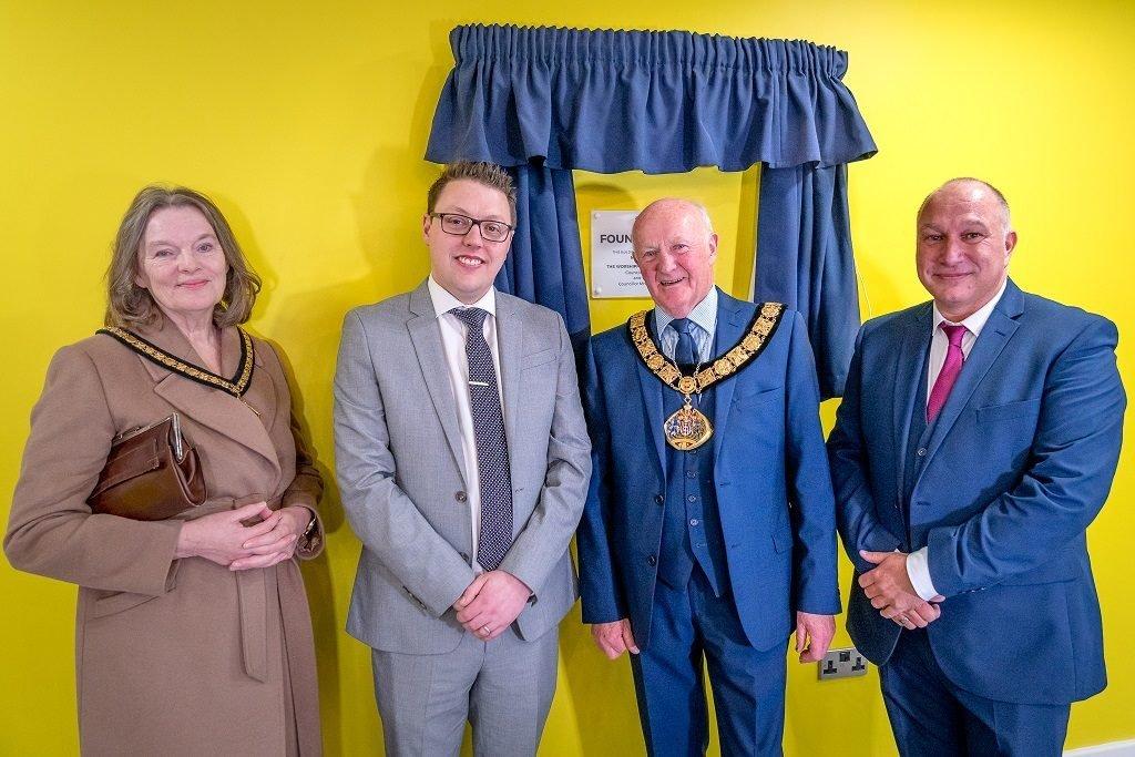 Foundry House, Widnes Launch Mayor & Mayoress