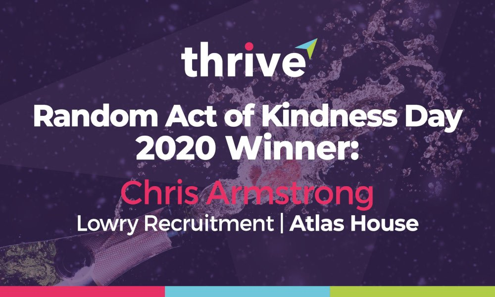 Thrive's kindest member crowned